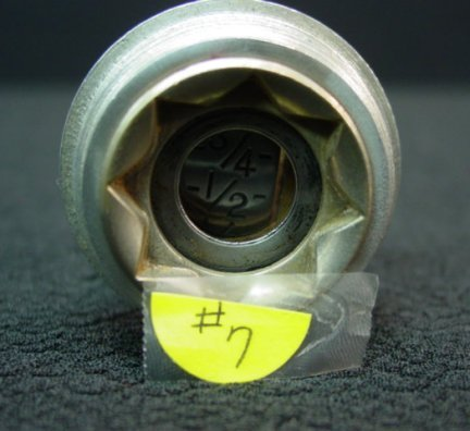 7: Ford A Model Fuel Dial Gage
