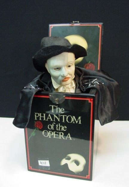 411: Phantom Porcelain Opera Music Box