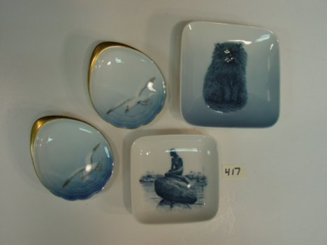 417: Danish Porcelain Bing & Grondahl Royal Copenhagen