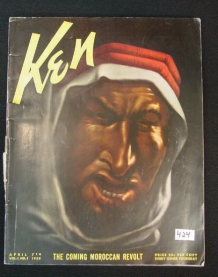 424: First Edition /Issue Magazine Anti-Nazi