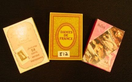 512: French Nude Playing Cards 3 Decks