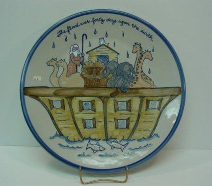 561: Louisville Stoneware Pottery Noah's Ark