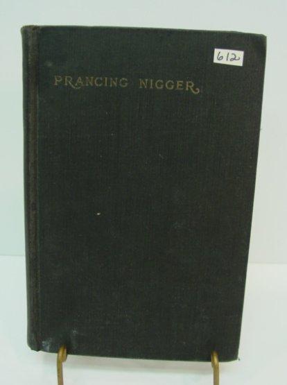 612: Americana Black Book Prancing Nigger