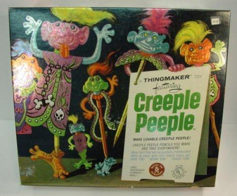 818: Mattel Creeple People Game