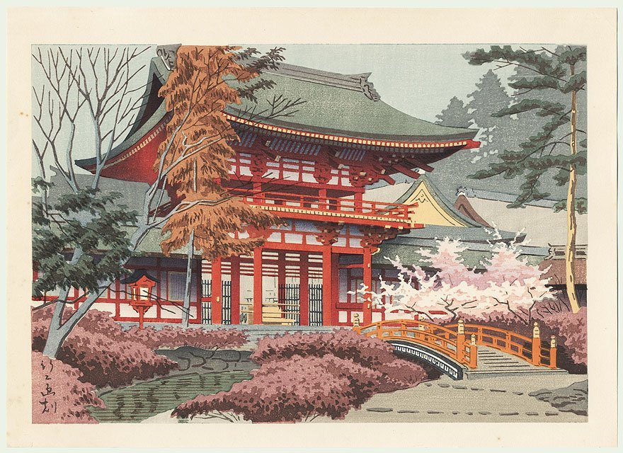 Original Takeji Asano (1900 - 1999) Japanese Woodblock