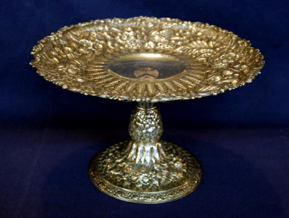 Tiffany Sterling Repousse Compote