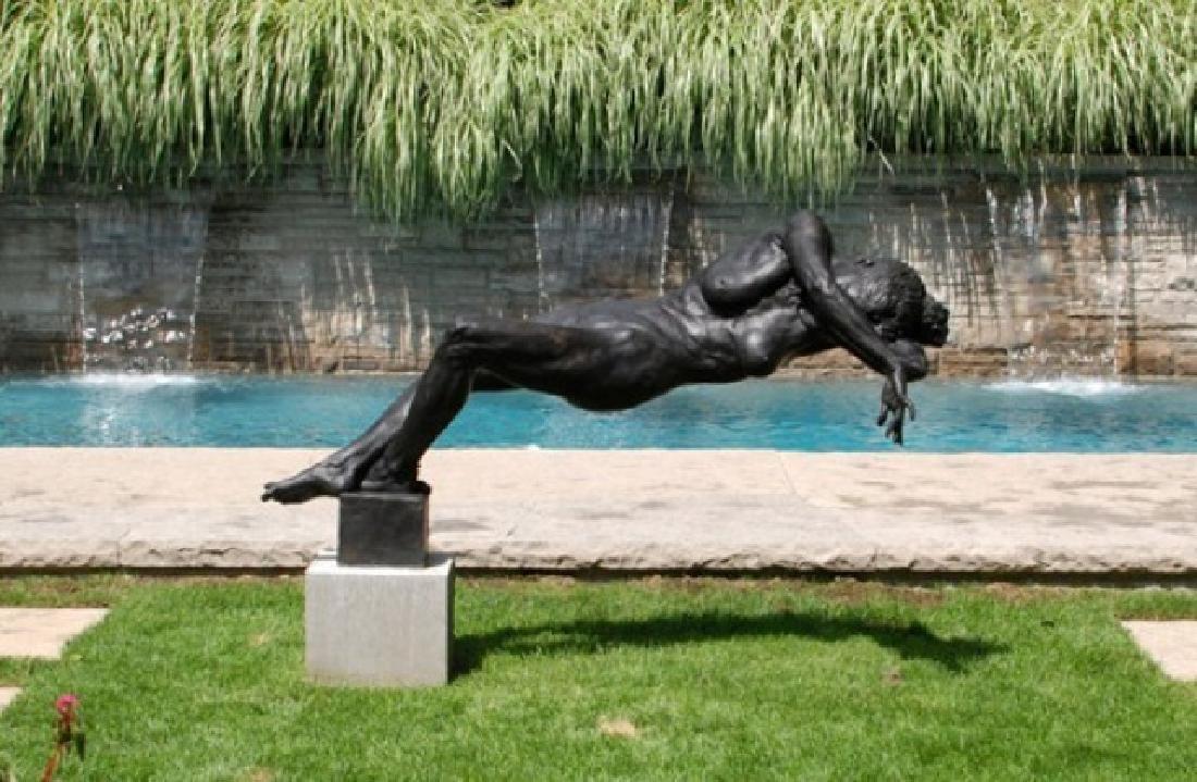 Gary Weisman Bronze Female Nude Statue Life Size