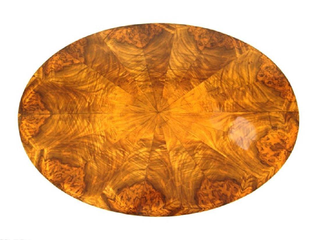 Biedermeier Walnut Side Table - 4