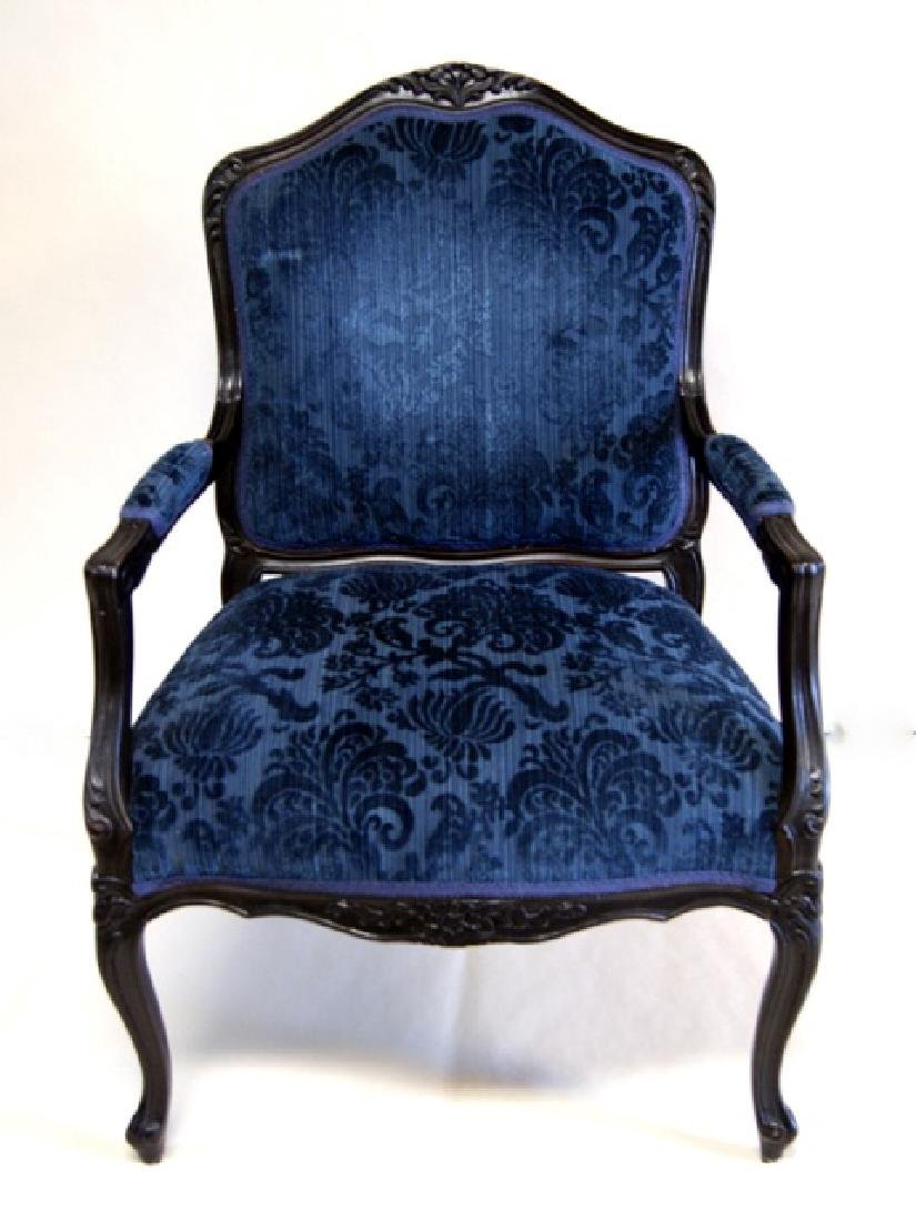 French Baroque Style Armchair - 2