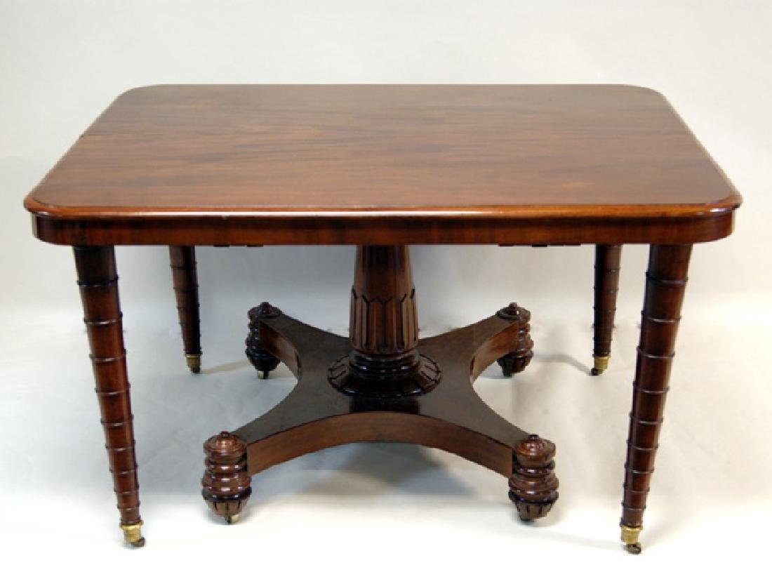 Mahogany Expandable Banquet Table