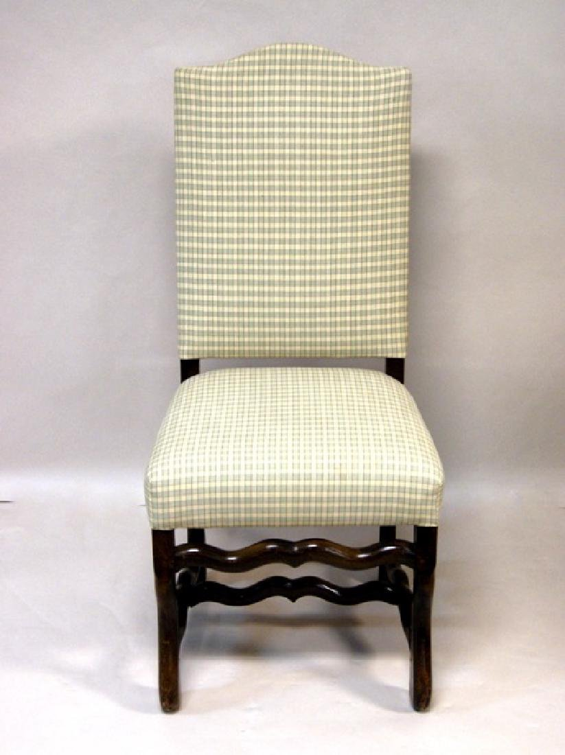 Six Upholstered Dining Room Chairs - 3