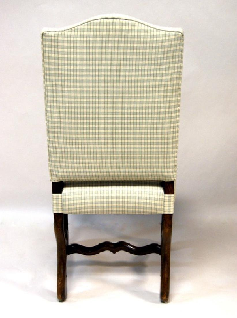 Six Upholstered Dining Room Chairs - 5