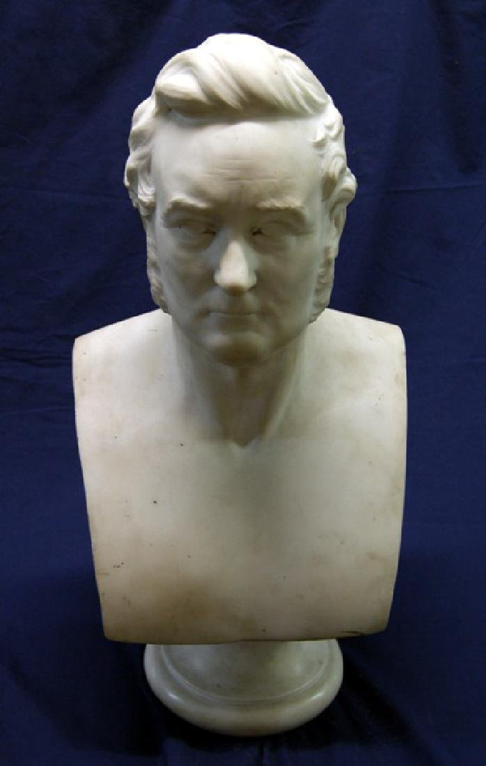 19th Century Marble Bust