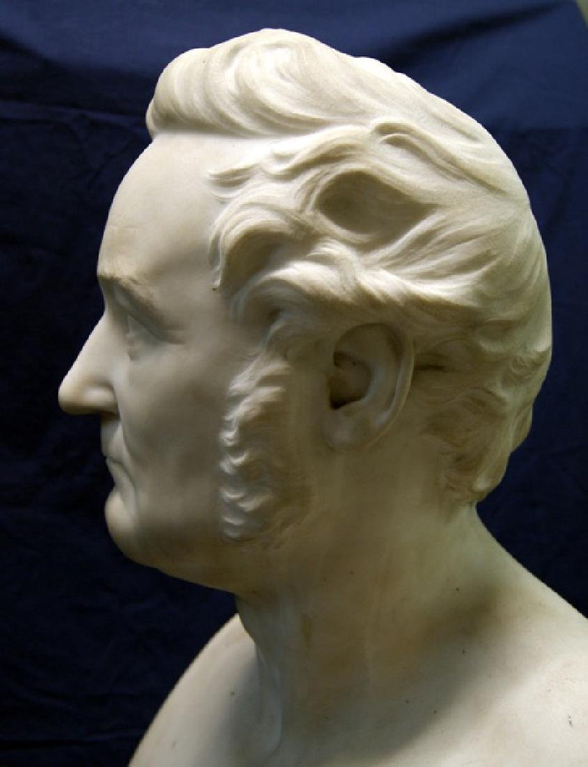 19th Century Marble Bust - 4