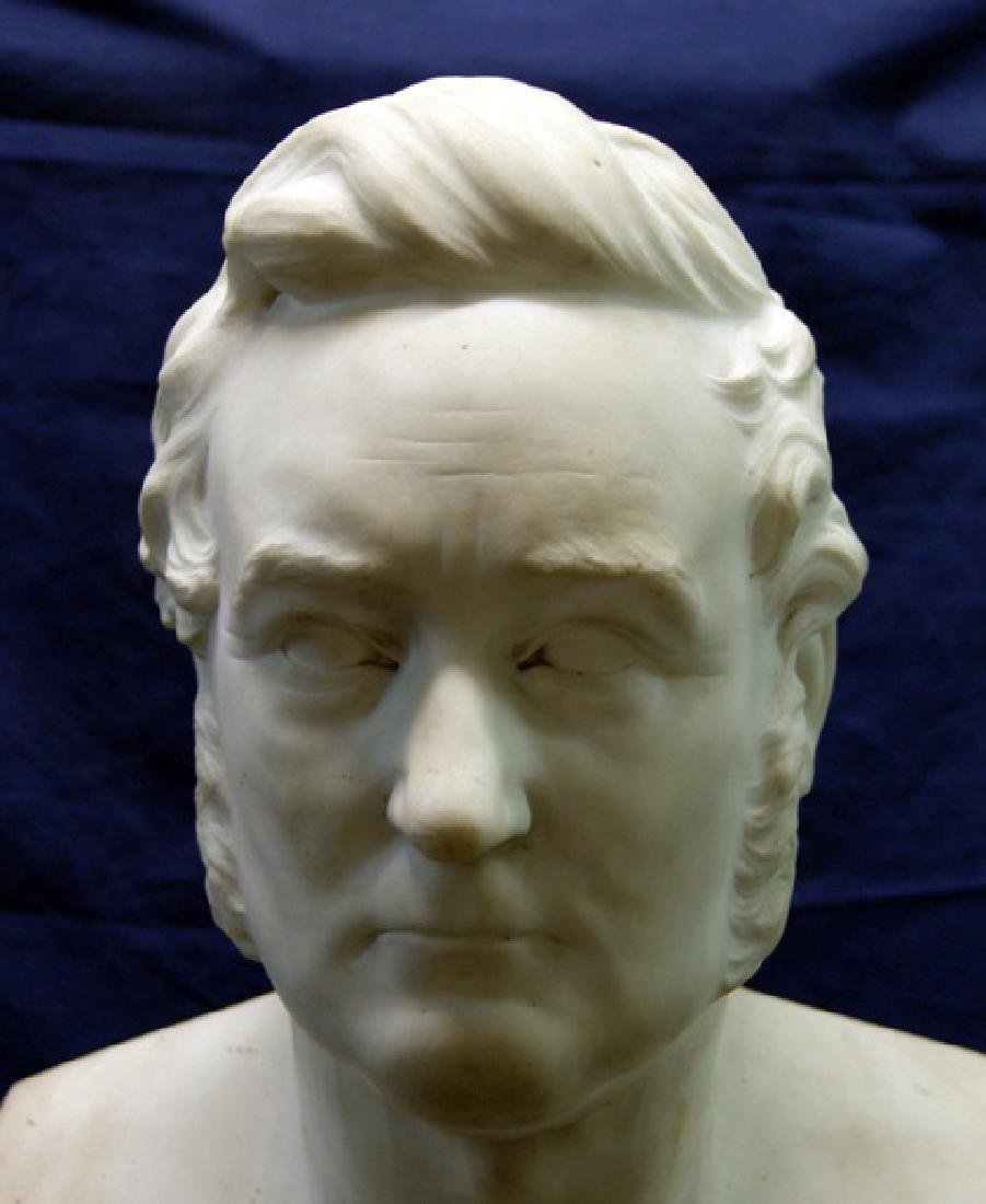19th Century Marble Bust - 5