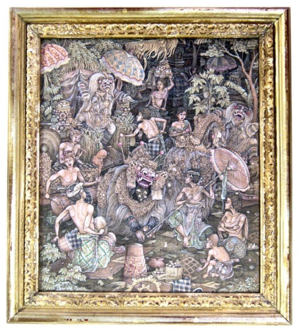 I.W. Naya Balinese Painting