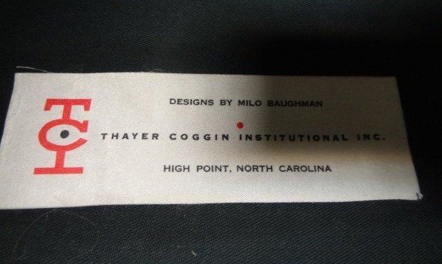 Three Milo Baughman Thayer Cogin Mid-Century Chairs - 2