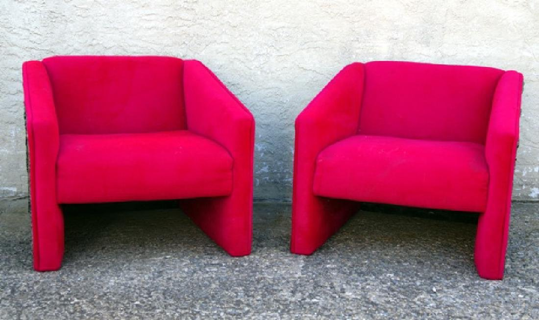Adrian Pearsall Mid-Century Pair of Armchairs - 2