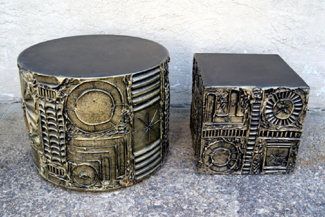 Adrian Pearsall Mid-Century End Tables