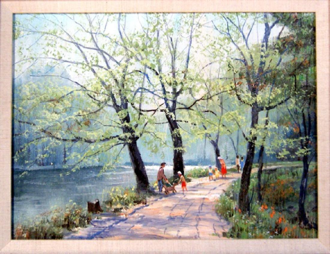 P. Etienne French Landscape - 2