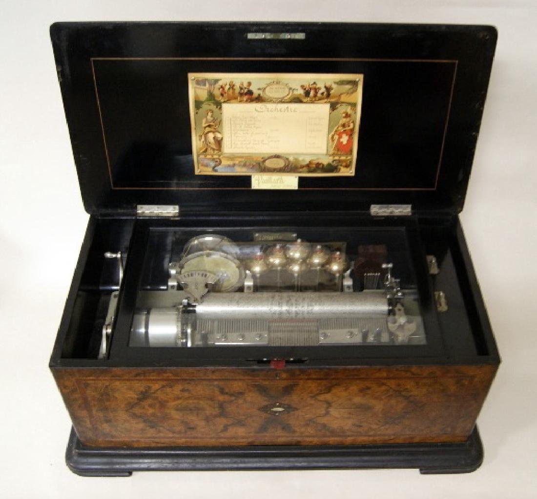 Paillard & Co. Orchestral Cylinder Musical Box