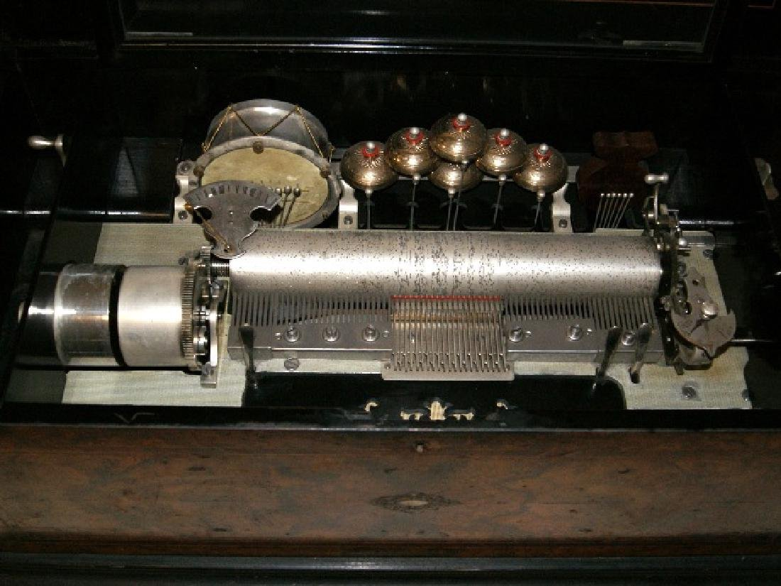 Paillard & Co. Orchestral Cylinder Musical Box - 6