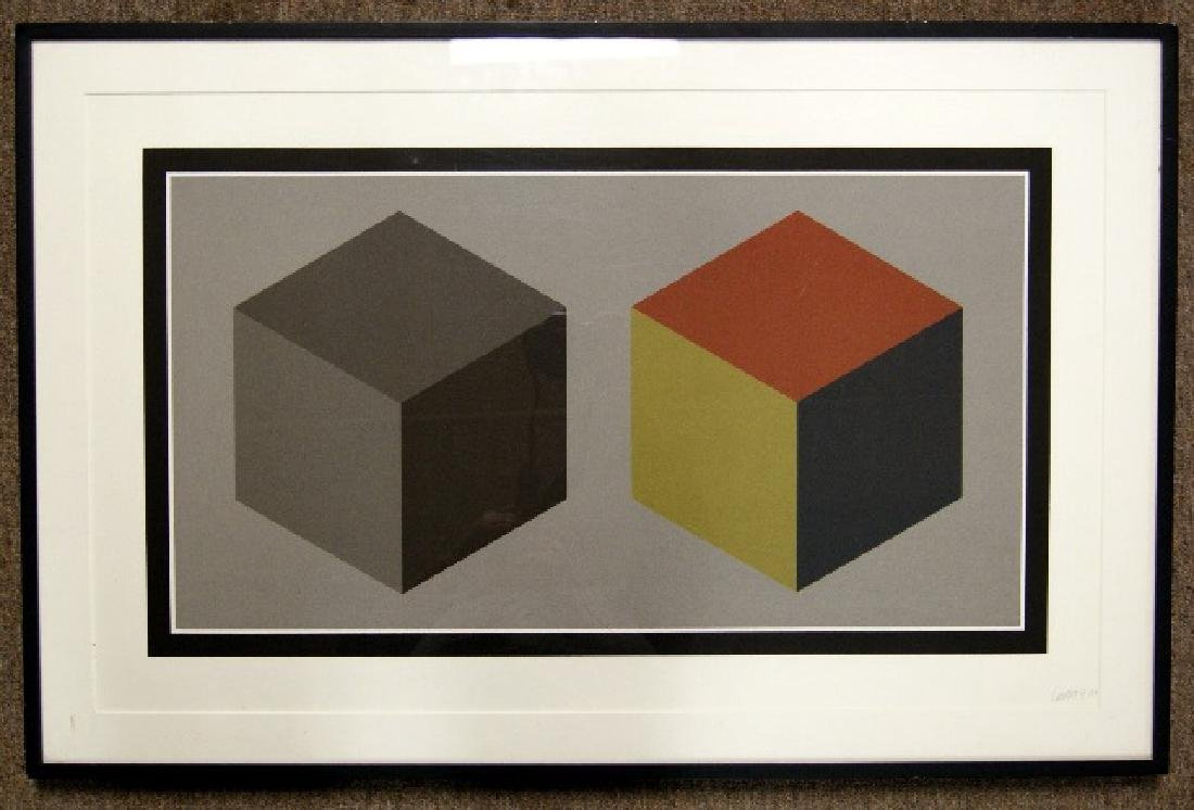 Modernist Geometric LE Silkscreen Print