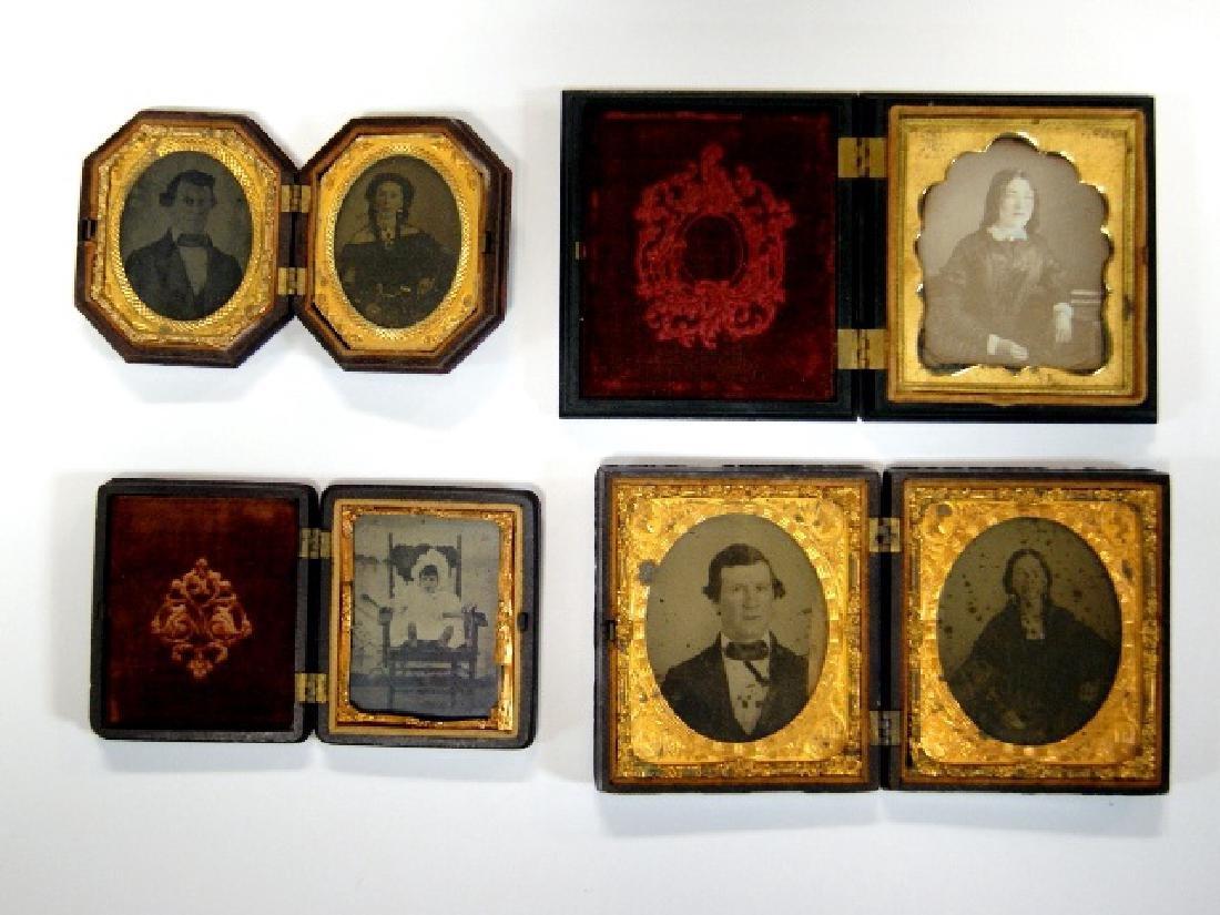 Cased 19th Century Photographs