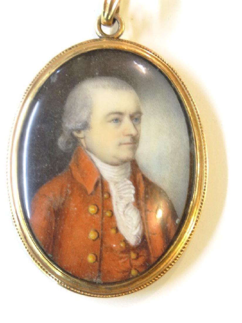 Antique Portrait Pendant