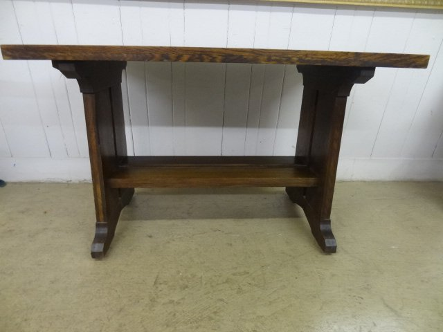 Mission Imperial Furniture Trestle Base Table