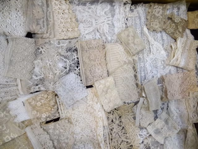 Victorian White Lace Lot