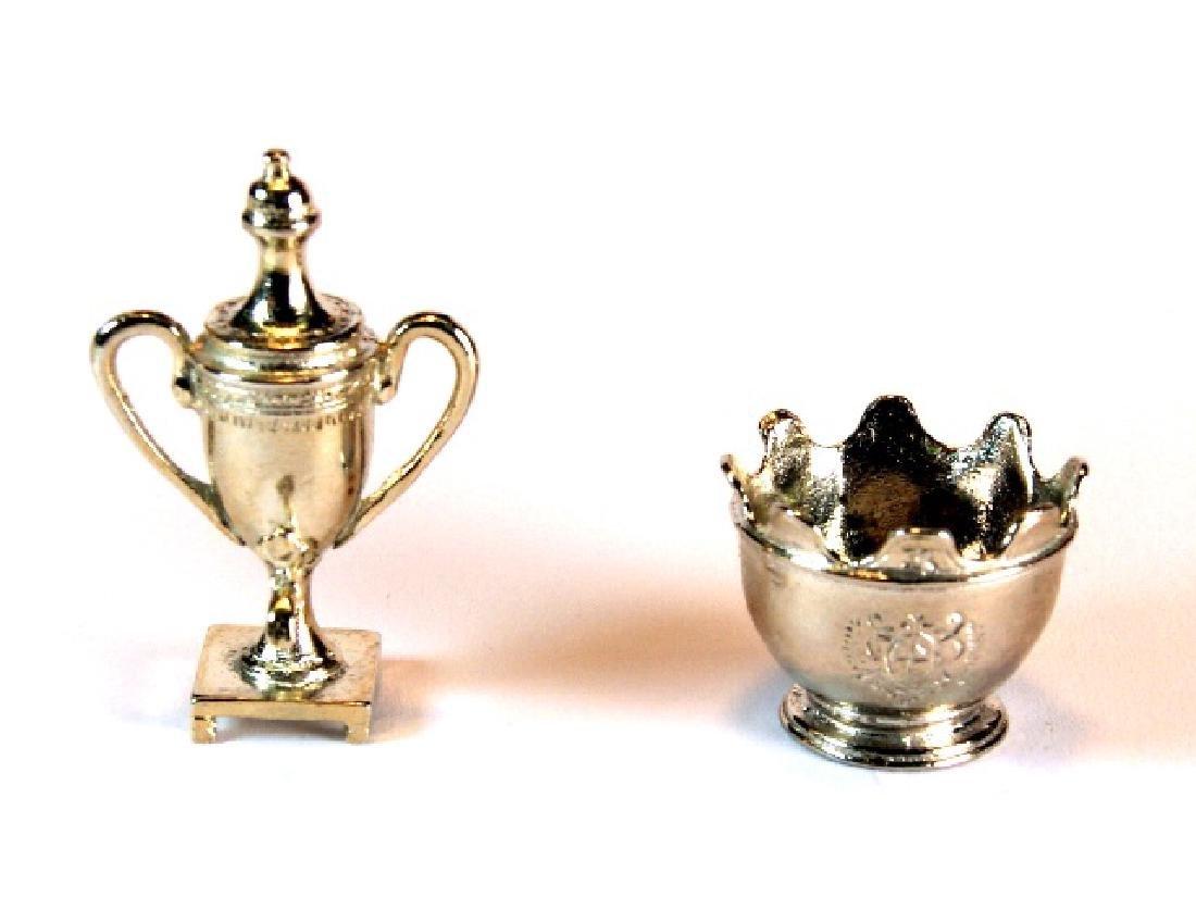 Kupjack Silver Monteith & Tea Urn