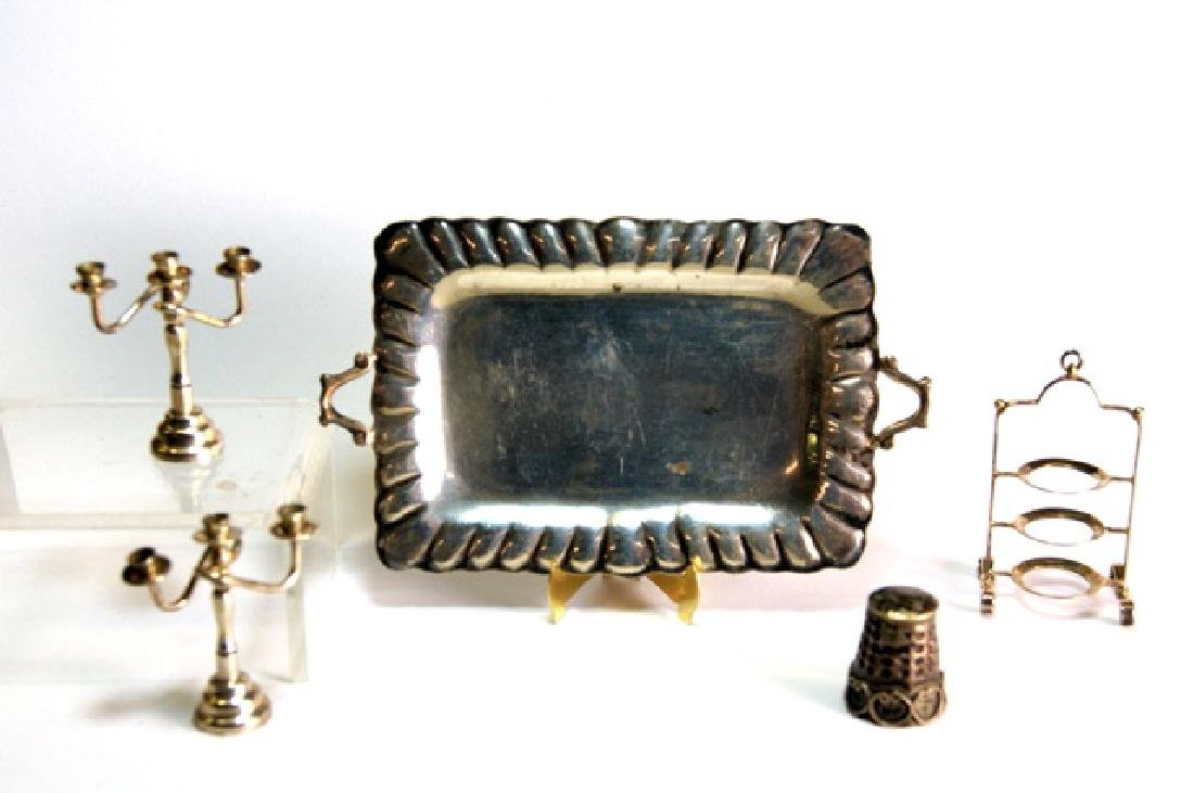 Silver Mexican Miniature Items