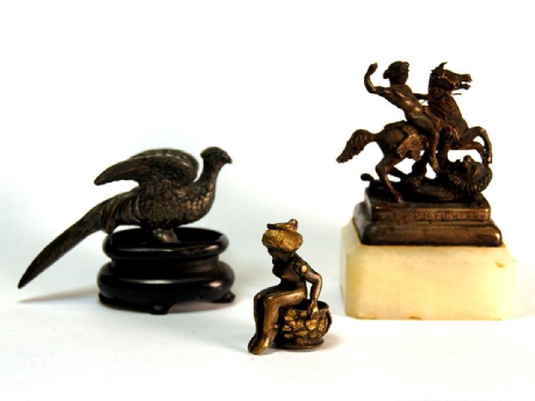Miniature Statues & Cigar Cutter