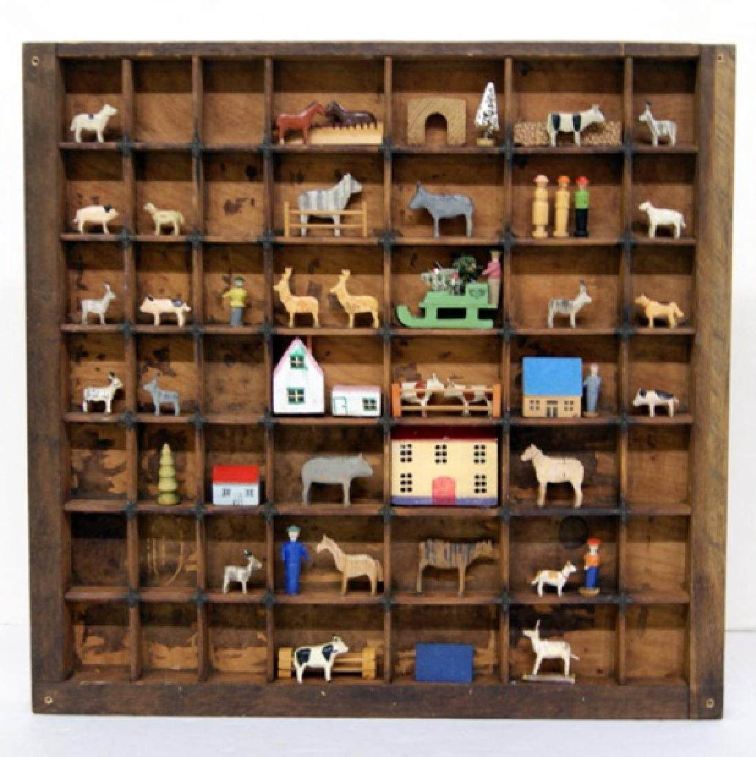 Fifty Erzgebirge German Wood Toys