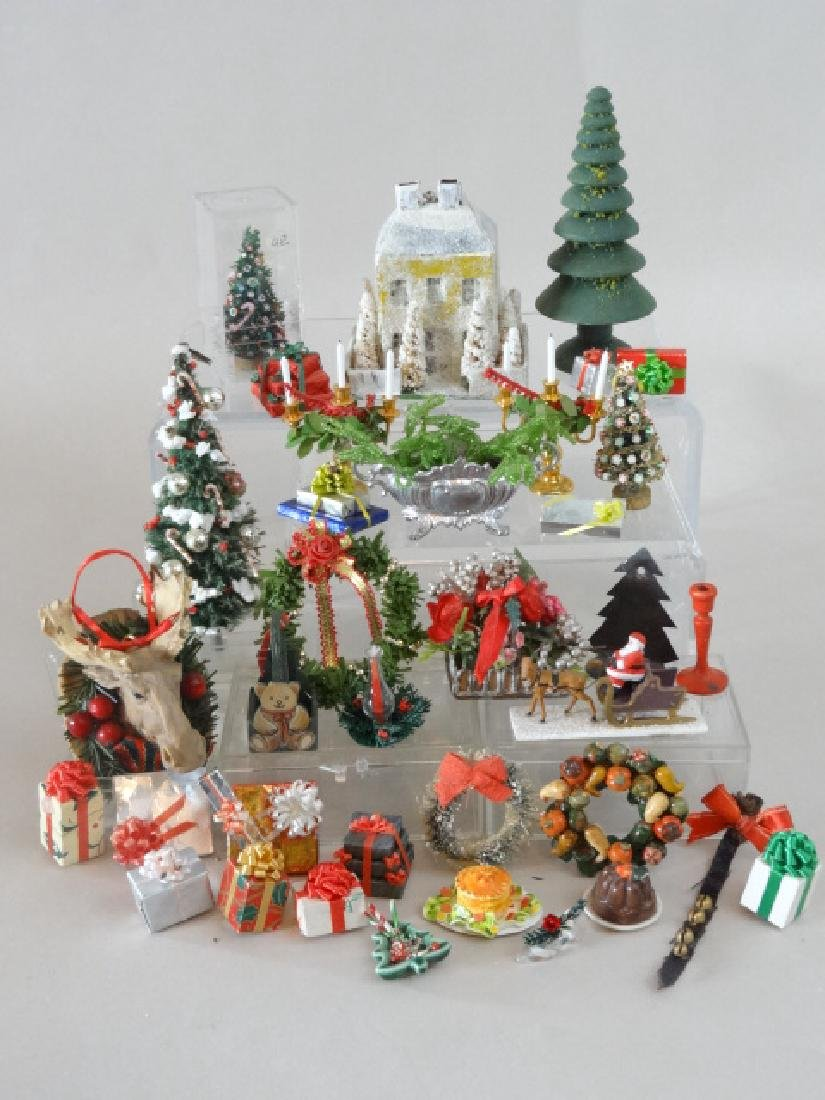 Dollhouse Miniature Christmas Decorations and Others