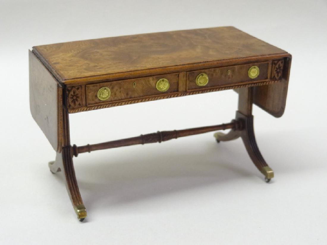 Thomas Warner Sofa Table Dollhouse Miniature