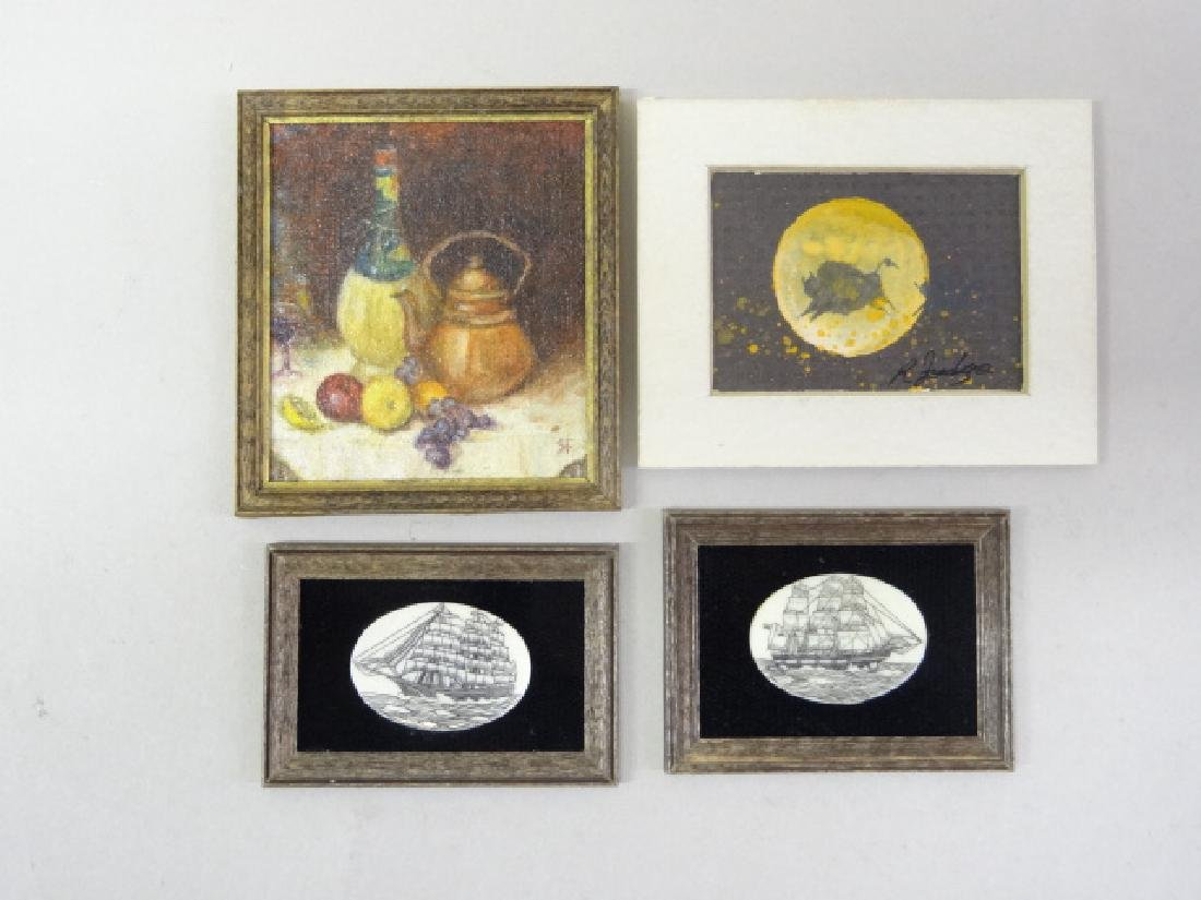 Dollhouse Miniature Paintings