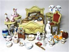 Sonia Messer Bedroom Furniture and Asst Pottery