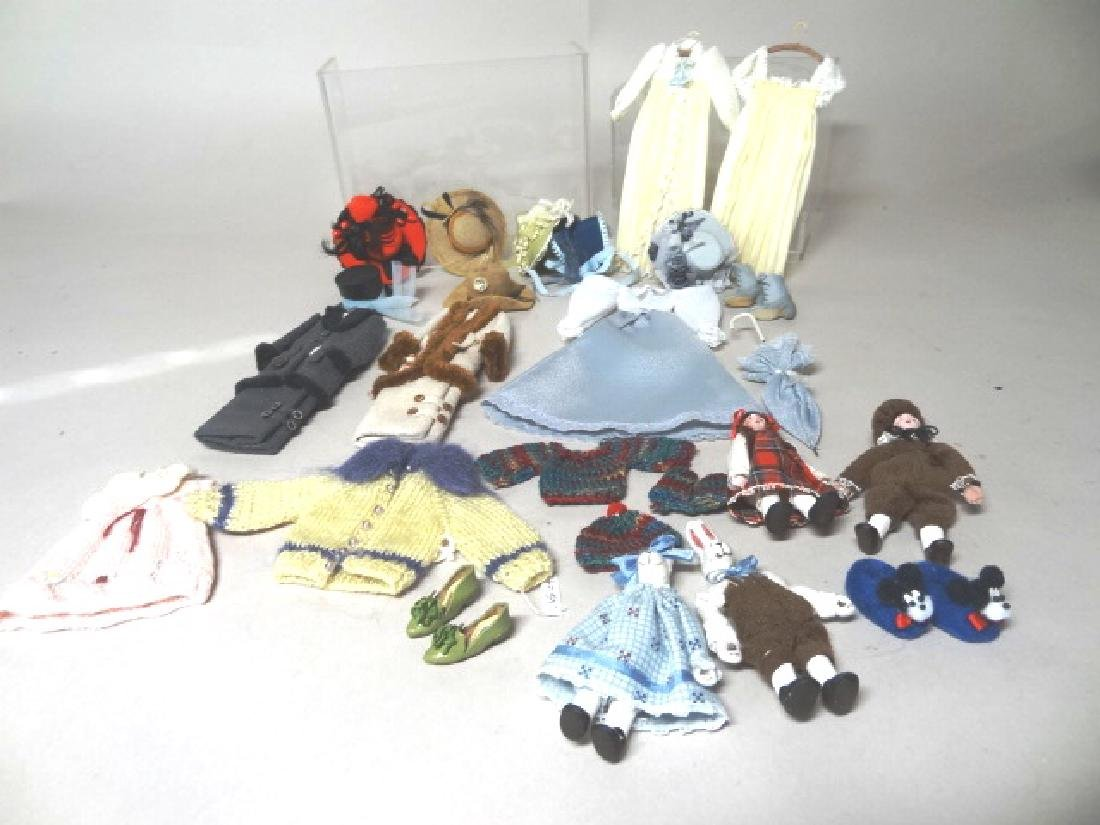 Miniature Artisan Dollhouse Clothing