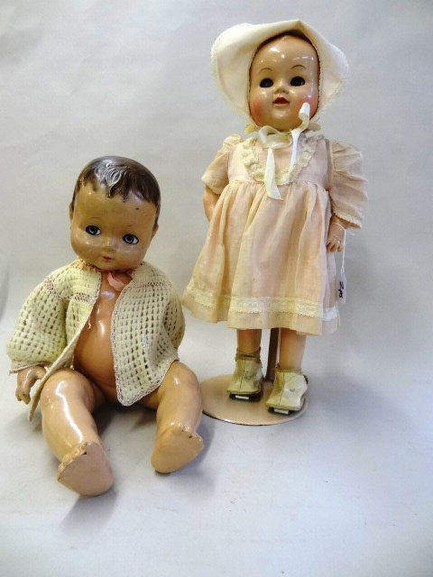 Betsy Walker and Unmarked Baby Doll