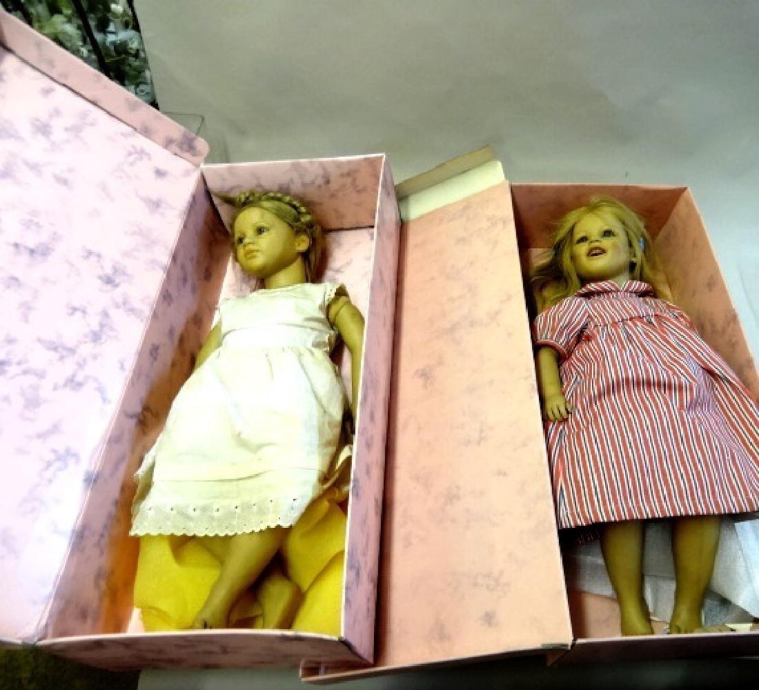 Ellen and Lesa Dolls by Annette Himstedt