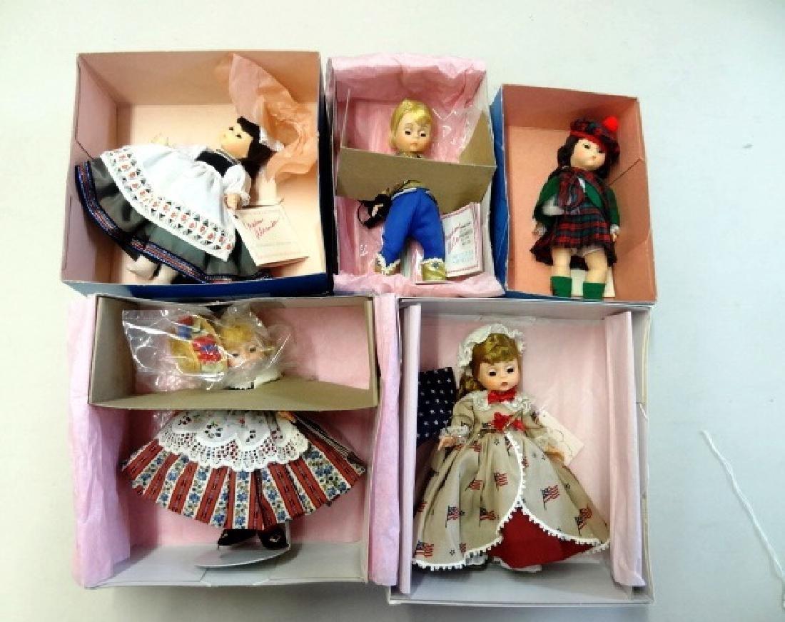 Five Madame Alexander Dolls