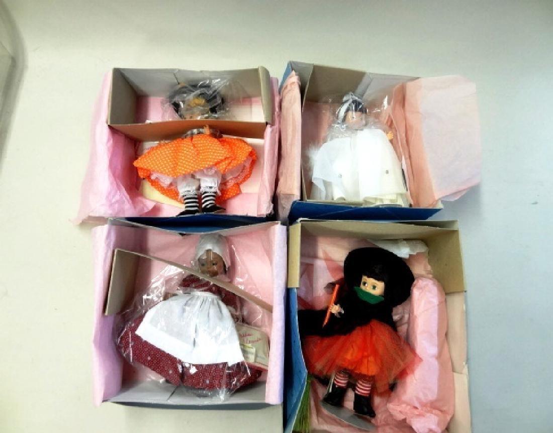 Four Madame Alexander Dolls