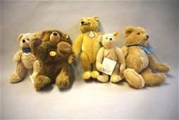 Group of Steiff Bears