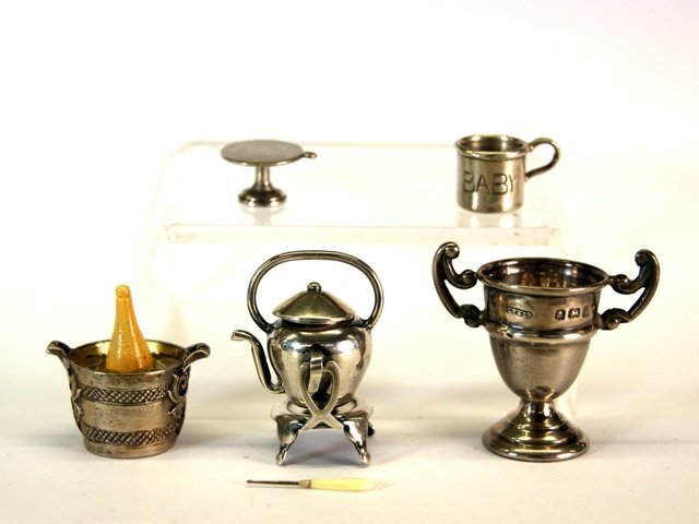 Sterling Silver Miniature Items