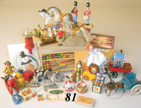 81: Toys By Gillick, David Krupick