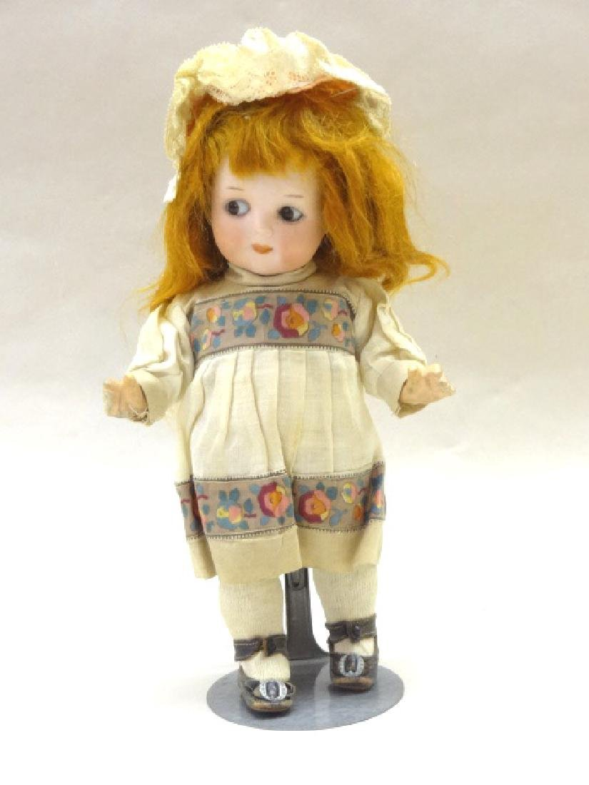 Googly-Eyed A&M Bisque Doll