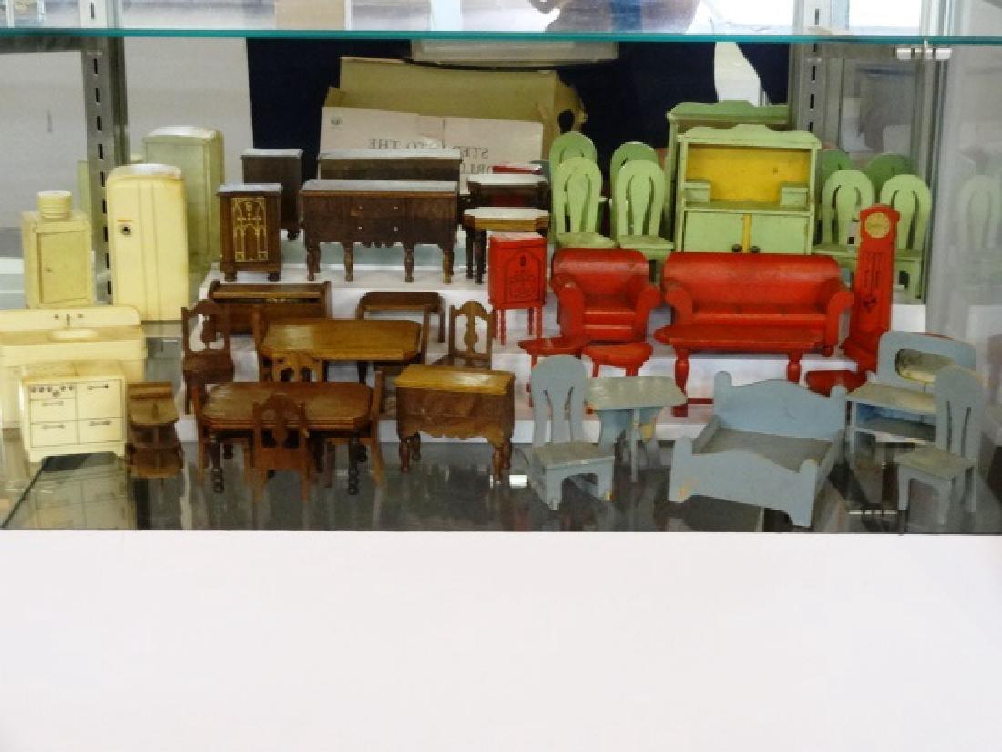 Huge Lot Of Vintage Strombecker Dollhouse Furniture