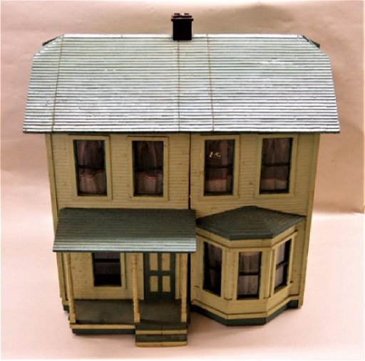 Fabulous Antique Victorian Dollhouse Download Free Architecture Designs Scobabritishbridgeorg